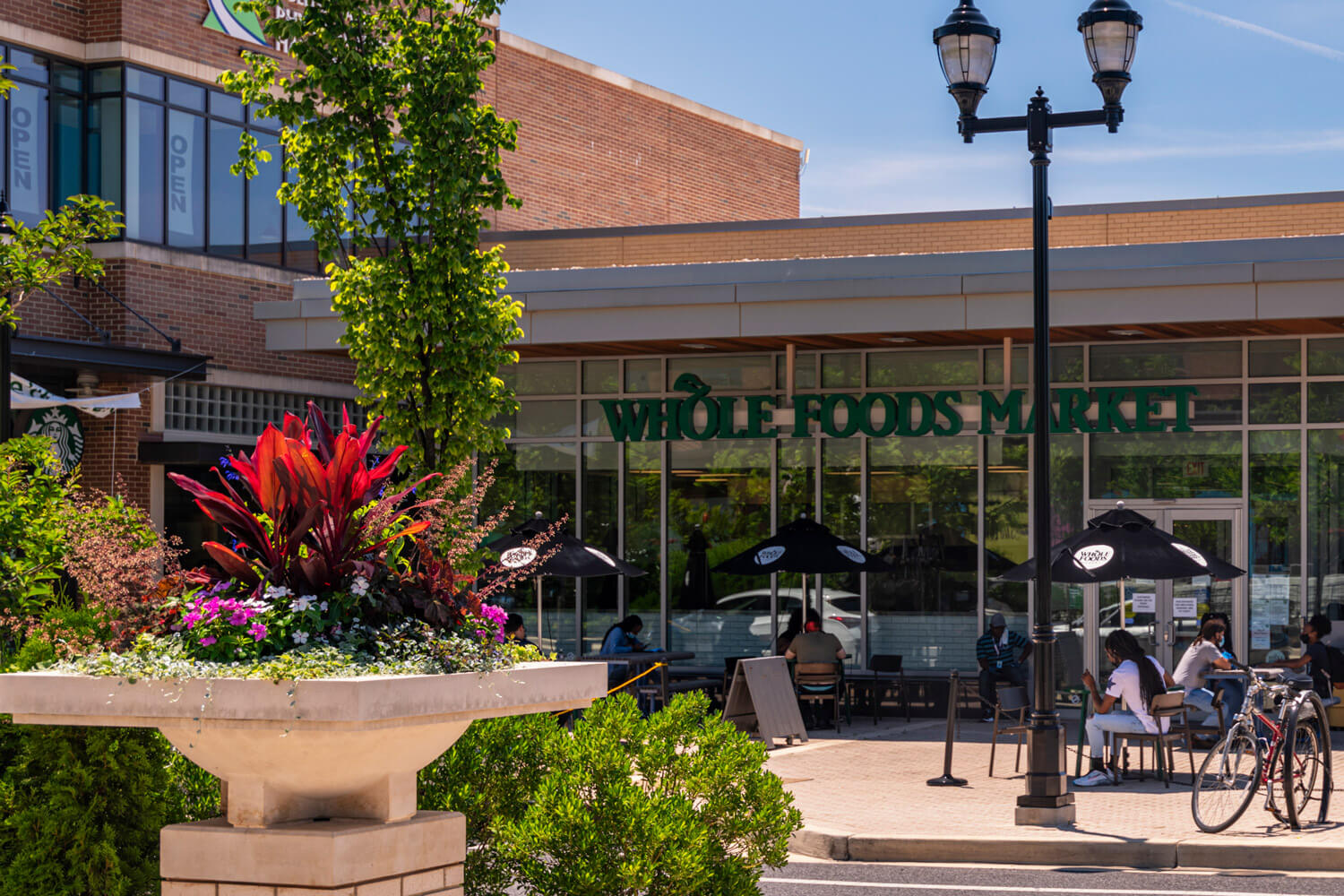 Whole Foods Market is right around the corner