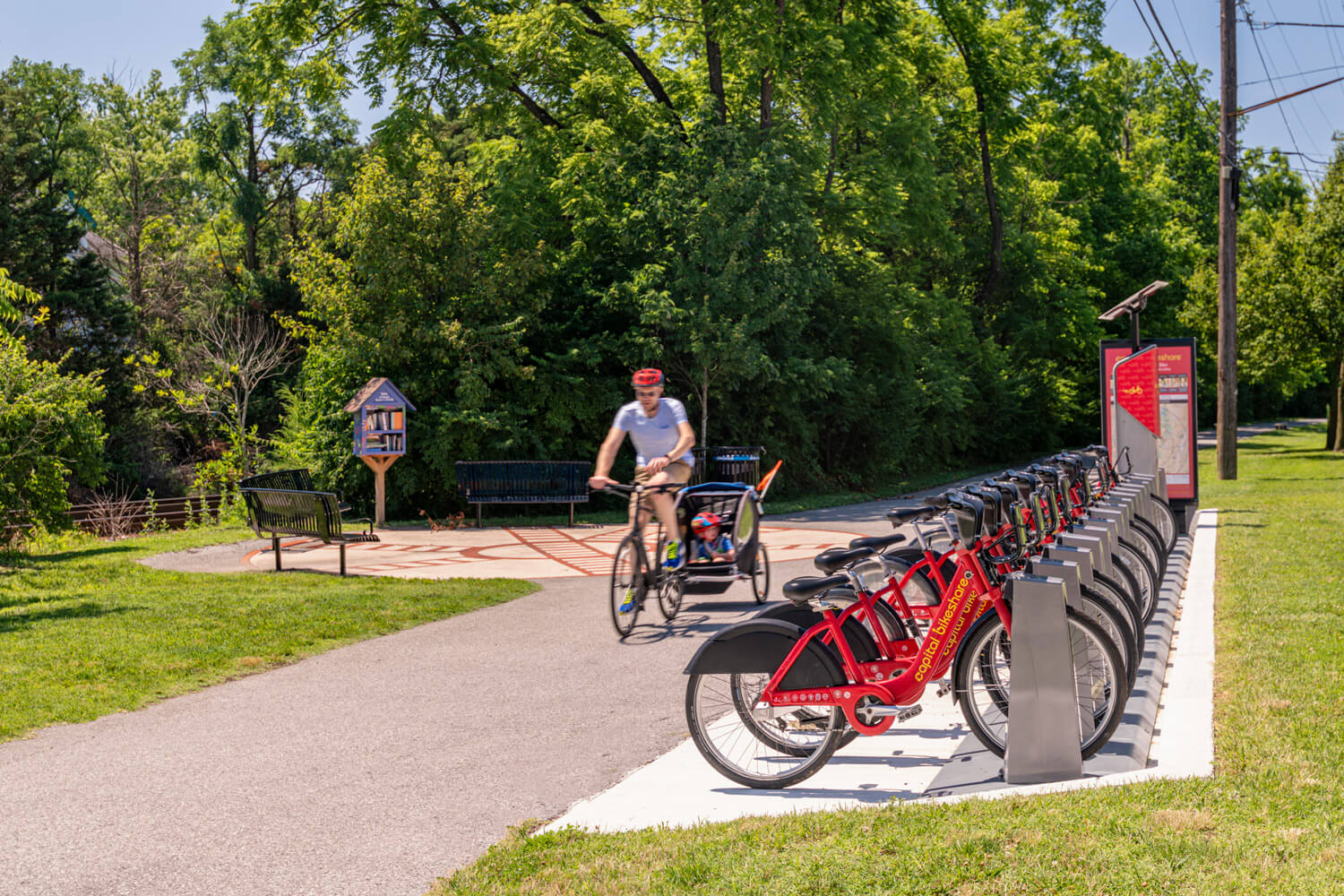 Rent a bike from Capital Bikeshare and go explore