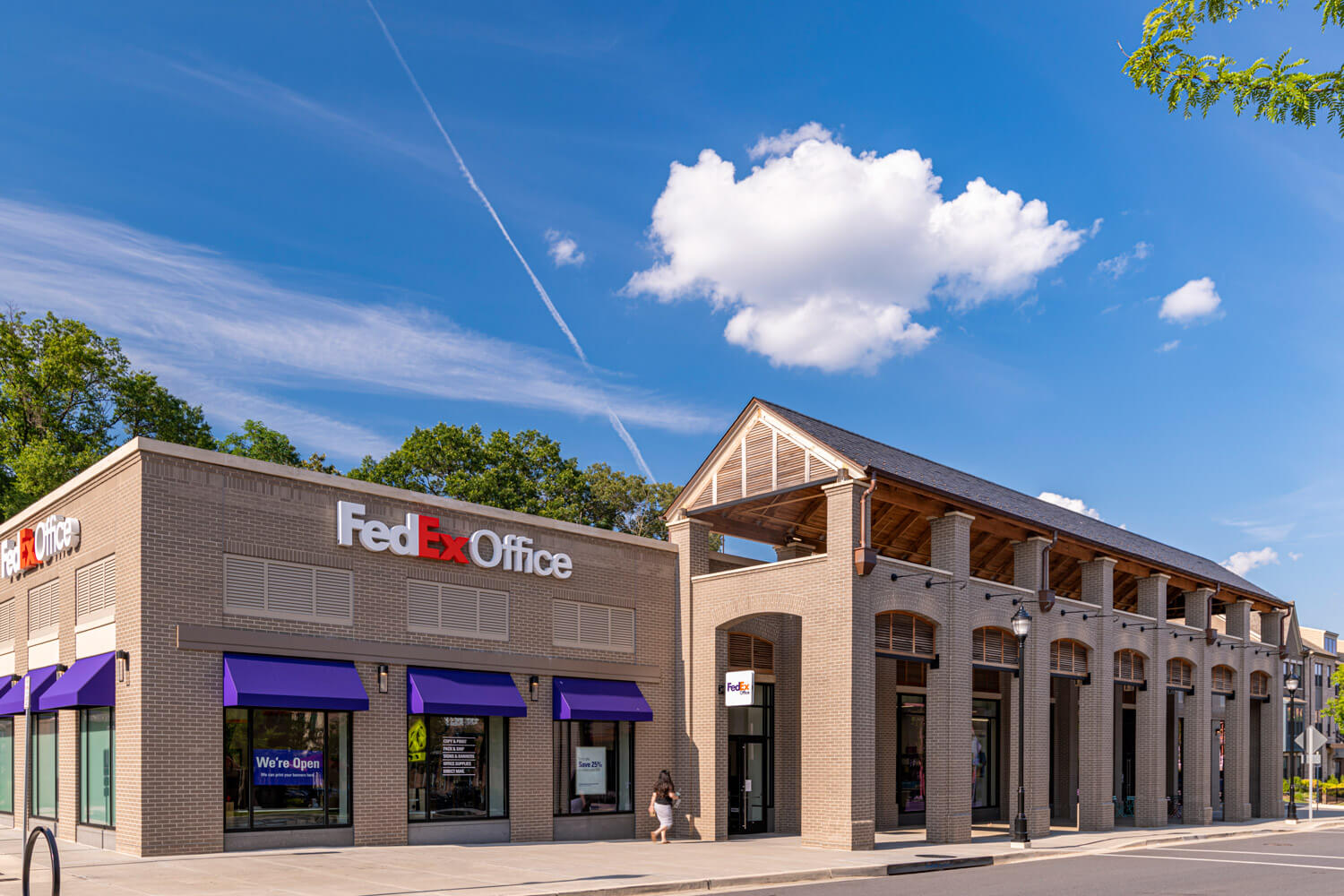 Print, ship, and shop at the local FedEx Office